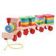 Trenuleț cu forme geometrice