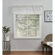 Exclusive Home Curtains Exclusive Home Cortinas belgas con Bolsillo para Barra, Plateado, 54X16, 1