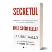 Secretul unui storyteller carte tiparita - autor Carmine Gallo