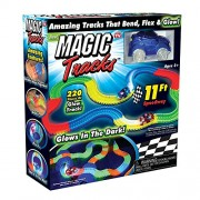 PH Artistic Magic Tracks The Amazing Race Racing Track That Can Bend, Flex and Glow in The Dark 11 Feet - As Seen On TV Multi Colour