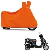 Kaaz Full Orange Two Wheeler Cover For Electric Photon