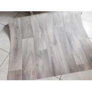 Fehér organza sable maradék függöny lila virágos 108x320cm széles/018/Cikksz:1240572