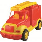 Masina pompieri Ucar Toys UC108, 43 cm, in cutie