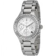 DKNY Quartz Silver Round Women Watch NY2258I