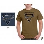 "Sniper Men ""Rifle"" T-Shirt (Khaki)"
