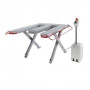 Flexlift Flachform-Hubtisch, Baureihe E Tragfähigkeit 300 kg LxB 1300 x 910 mm, 230 V Wechselstrom