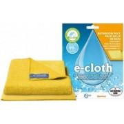 Set doua lavete E-Cloth pentru baie Galben
