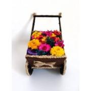 Trasura handmade flori artificiale