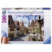Ravensburger puzzle rothenburg, 500 piese