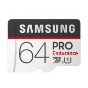 SAMSUNG PRO Endurance TF Card Class 10 100Mb/s Micro SD Card with Adapter - 64GB