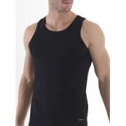 BlackSpade Комплект из двух хлопковых мужских маек черного цвета BlackSpade b9678 Black