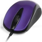Mouse Media-Tech Plano Optic USB 800 cpi Negru cu Mov