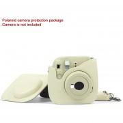 EW Bolsa de cuero de la cámara instantánea Polaroid para foto