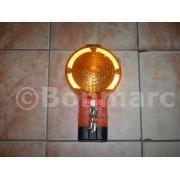 Lampa avertizare galbena cu lumina intermitenta pentru trusa adr