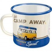 ART Emaljmugg Retro 'Let's Camp Away'