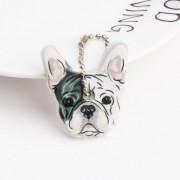 Szilikon kulcsvédő francia bulldog