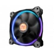 Ventilador Thermaltake Riing 14 LED RGB 256 Colores, 140mm, 800-1400RPM, Negro