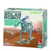4M Spel Solar Robot voor kinderen - Grijs