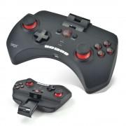 Controller telescopic joystick gamepad IPEGA PG-9025 wireless bluetooth pentru smartphone android PC, negru PUBG