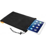 HAWEEL nylon mesh buideltas met koord voor iPad Air 2 & 1 / iPad 4/3/2/1, maat: 29cm x 19cm (zwart)