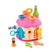 Casa de encaje con figuras cotoons ,rosada Bestoys