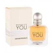 Giorgio Armani Emporio Armani Because It´s You eau de parfum 50 ml Donna