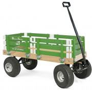 Berlin F410 Amish-Made Sport Ride-On Wagon, Emerald Green