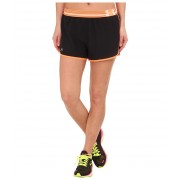 Under Armour UA Perfect Pace Short BlackCyber OrangeReflective