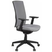 FOPOL - KB Office armchair with seat slide system, KB-8922B-S/GREY - swivel chair