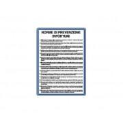 E.M.A Cartelli Di Norme-Norme Di Prevenzione Infortuni
