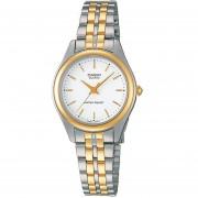 Reloj Casio LTP-1129G-7A-Plateado Con Dorado