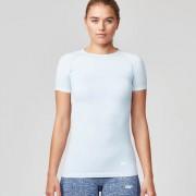 Myprotein Dames Naadloze t-shirt met korte mouwen - M - Green/Blue