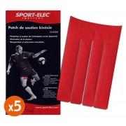 Sport-Elec Patch Kinésie Cuisse Sport-Elec - 5 Unités