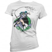 Tee Catwoman In Action Girly Tee
