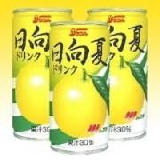 日向夏ドリンク(果汁30%) 190g缶(3ケース)