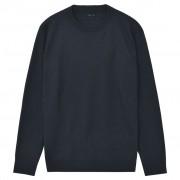 vidaXL Kerek nyakú férfi pulóver/szvetter sötétkék XL-es