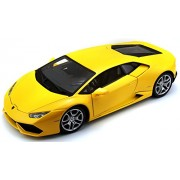 Bburago 1:18 Lamborghini Huracan LP 610-4 Die Cast Car, (Colors may vary)