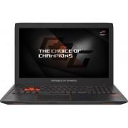 "Laptop Gaming ASUS ROG STRIX GL553VD-FY034 (Procesor Intel® Core™ i7-7700HQ (6M Cache, up to 3.80 GHz), Kaby Lake, 15.6""FHD, 16GB, 1TB @7200rpm + 128GB SSD, nVidia GeForce GTX 1050@4GB, Wireless AC, Tastatura iluminata) + Geanta Laptop Dicallo LLM0314 15."