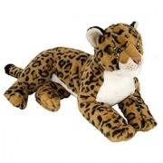 Cuddlekins - Laying Leopard - 16/40.5cm - Plush - Wild Republic