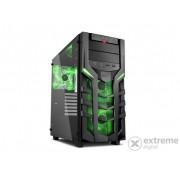 Carcasa PC Sharkoon DG7000-G (4044951019359), negru - verde