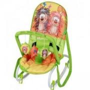 Бебешки шезлонг с гриф Lorelli Top Relax, Multicolor, 079080