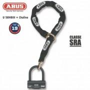 ABUS Antivol U + chaine ABUS 58HB3+12KS120L