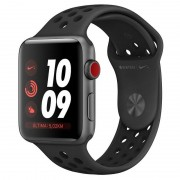 Apple Watch Nike+ Series 3 GPS + 42mm Alumínio Space Grey com Correia Desportiva Nike Preto