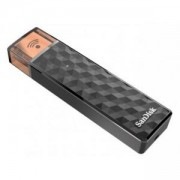 Флаш памет с Wi-Fi интерфейс SanDisk Connect Wireless Stick, 16 GB, Черен, SD-USB-SDWS4-016G-U46