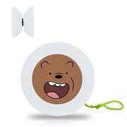 New Style YoYo Ball WE BARE BEARS Professional Responsive Yo-Yo Bearing Spinning Ball String Spin Toys-White