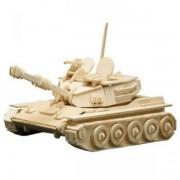 Puzzle eco 3D din lemn Tanc Pebaro