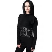 Corset (ceinture) pour femmes KILLSTAR - Havoc - NOIR - KSRA001715