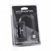 Volkano Media Series High Speed 4 Port USB Hub