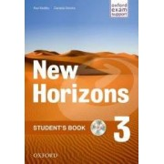 Oxford University Press New Horizons 3 Student´s Book with CD-ROM Pack - Radley Paul