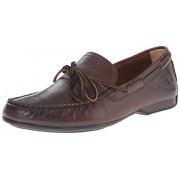 FRYE Men s Lewis Tie Slip-On Loafer Dark Brown Soft Vintage Leather - 80272 8 D(M) US